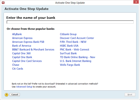 All About Online Banking and Bill Pay with Quicken